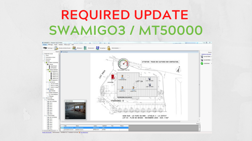 IMPORTANT UPDATE MT50000 / SWAMIGO 3