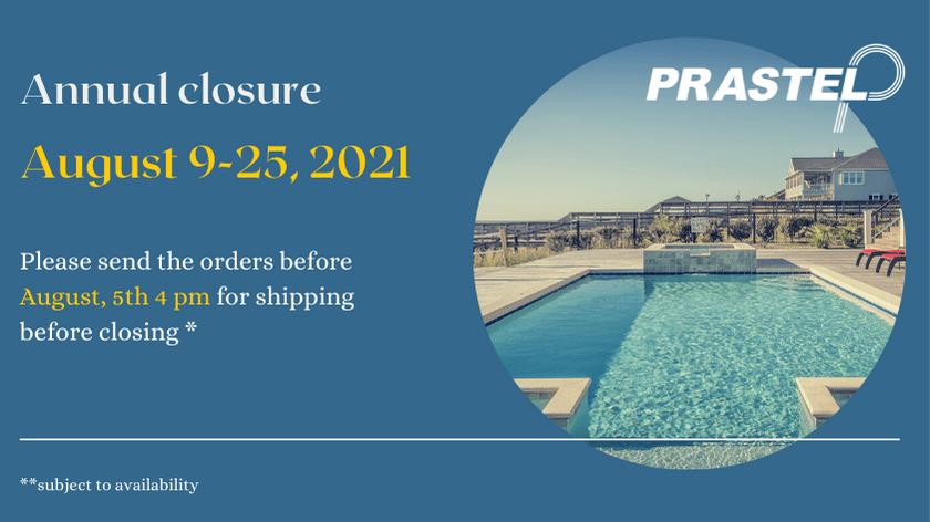 Annual Closure
